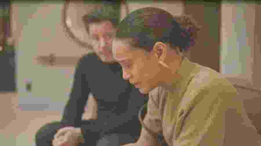Vitória (Taís Araújo) e Raul (Murilo Benício) de Amor de Mãe (Reprodução/TV Globo) - Reprodução/TV Globo