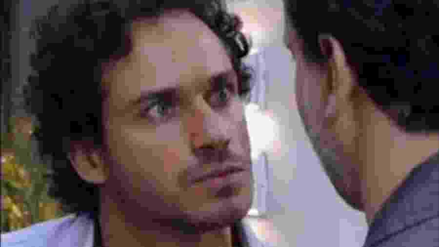 Guaracy (Paulo Rocha) e Paulo (Dan Stulbach) em Fina Estampa (Reprodução/TV Globo). - Reprodução / Internet