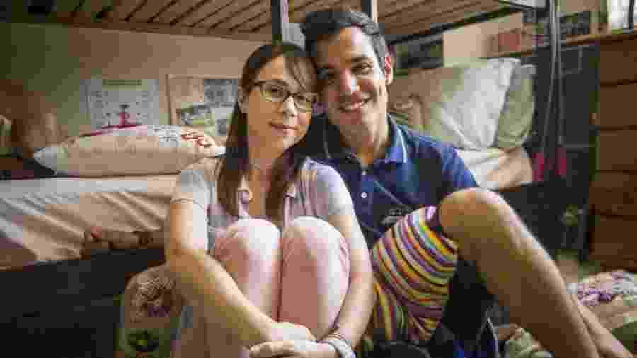 Benê ( Daphne Bozaski ) e Guto ( Bruno Gadiol ) em Malhação Viva a Diferença (Divulgação/ TV Globo) - Divulgação/ TV Globo