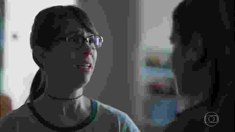 Benê (Daphne Bozaski) e Josefina (Aline Fanju) em Malhação (Reprodução/TV Globo). - Reprodução / Internet