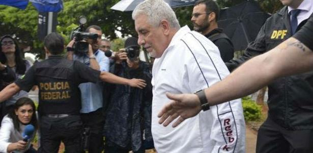 Henrique Pizzolato deixou nesta quinta a penitenciária da Papuda - Agência Brasil