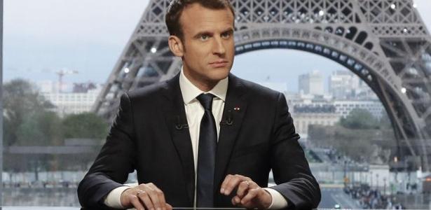 O presidente francês, Emmanuel Macron - FRANCOIS GUILLOT / AFP / POOL