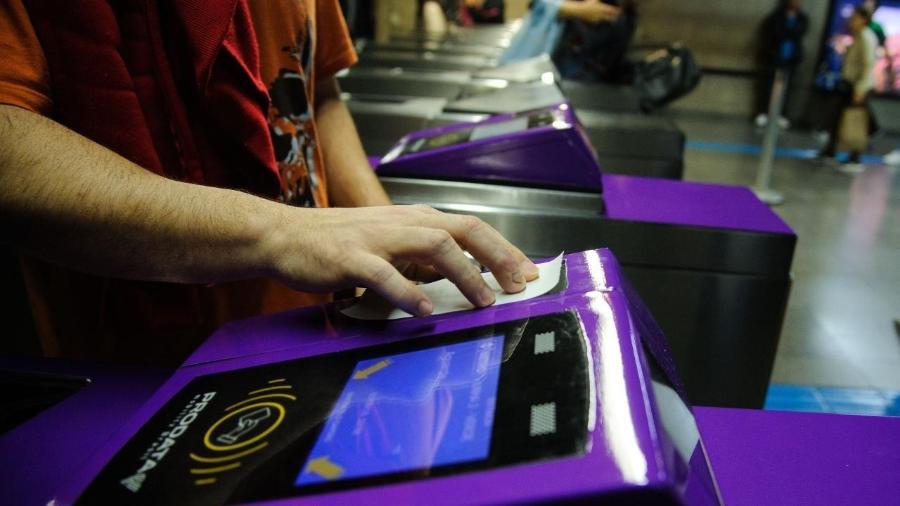 Pagamento com QR Code no Metrô e na CPTM - Márcia Alves Divulgação