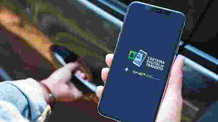 Carteira Digital de Trânsito permite monitorar e gerar boleto para pagar multas de órgãos já credenciados - Divulgação - Divulgação