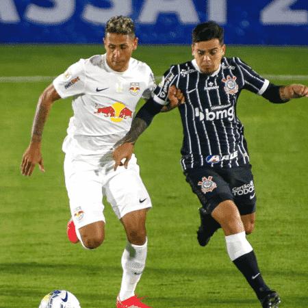 Red Bull Bragantino e Corinthians em jogo pelo Brasileirão de 2020 - GettyImages