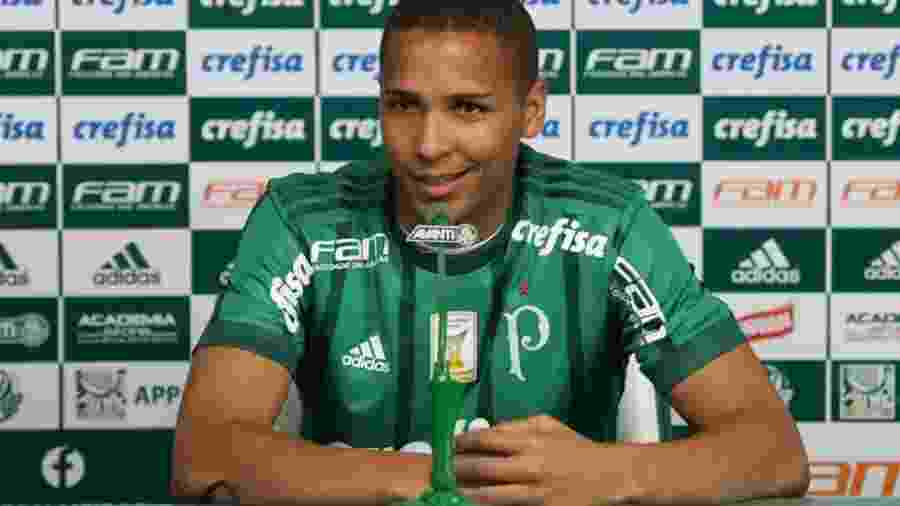 Deyverson vai ser titular do Palmeiras contra o Avaí em São Paulo - Cesar Greco/Ag. Palmeiras