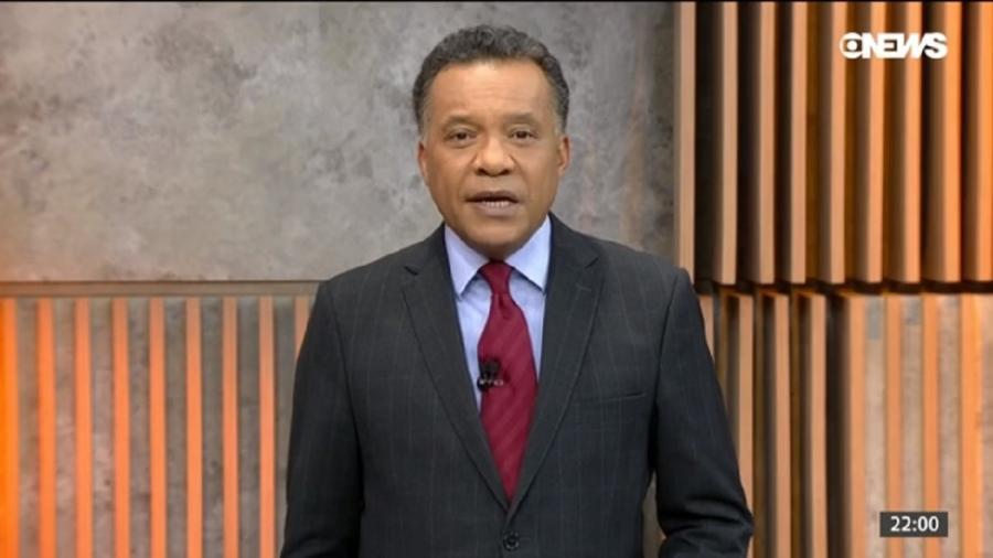 Heraldo Pereira, da GloboNews (Reprodução) - Reprodução / Internet
