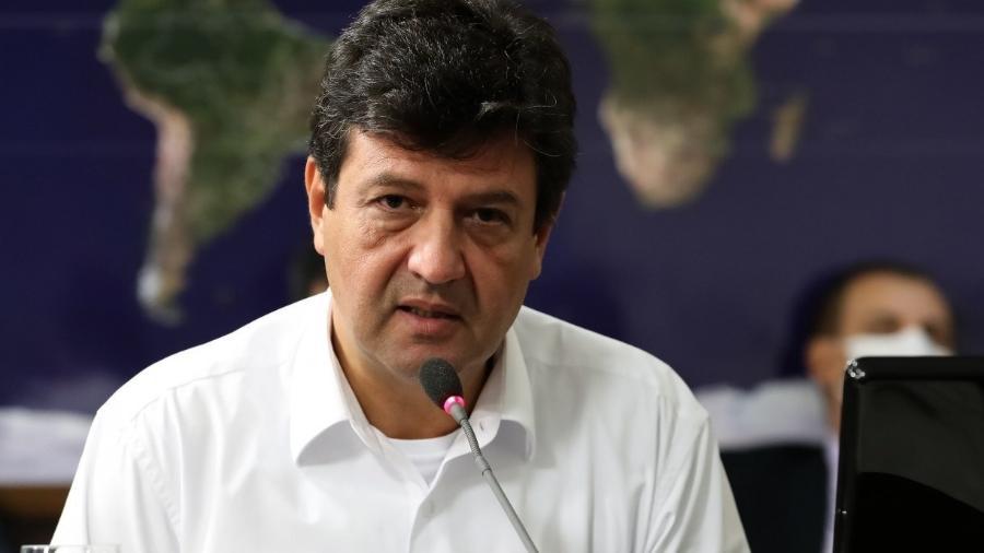 Mandetta faz as pazes com o DEM e partido apoiará ex-ministro para 2022 -                                 MARCOS CORRêA/PR