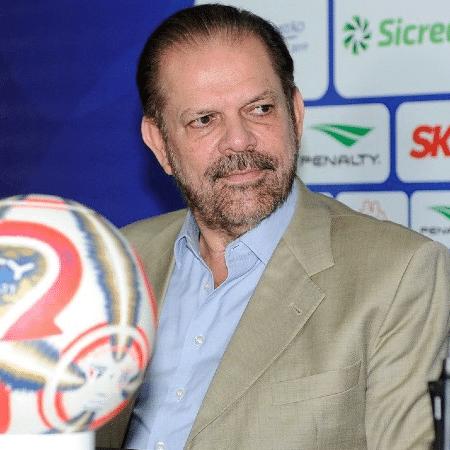 Reinaldo Carneiro Bastos, presidente da FPF - Rodrigo Corsi/FPF