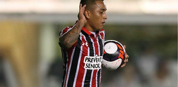 Cueva tem sete gols e quatro assistências nesta temporada pelo Tricolor
