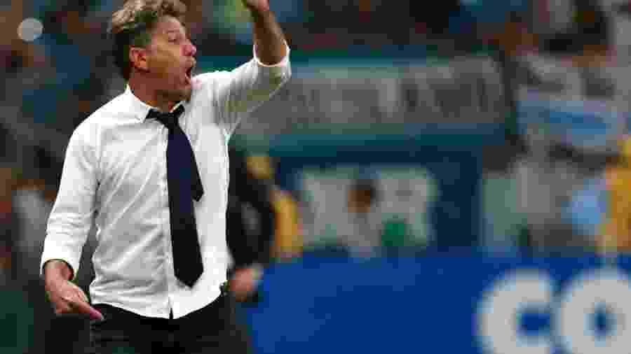 Fluminense treinado por Renato perdeu para a LDU nos pênaltis, em 2008 - Diego Vara/Reuters