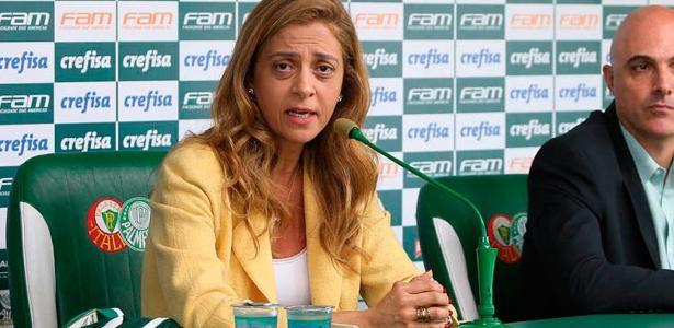 Leila Pereira, em evento na capital paulista, sofreu uma tentativa de agressão