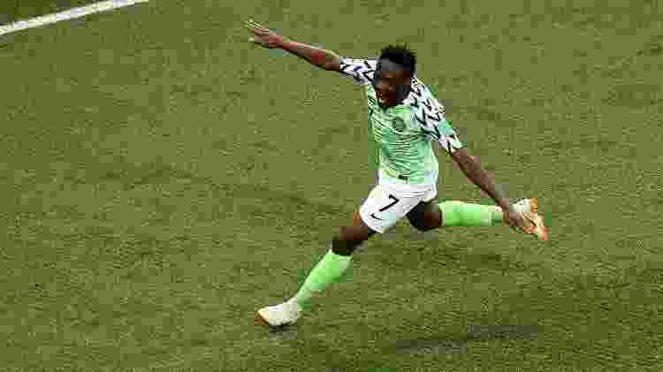 Ahmed Musa, da Nigéria  - Kevin C. Cox/Getty Images - Kevin C. Cox/Getty Images