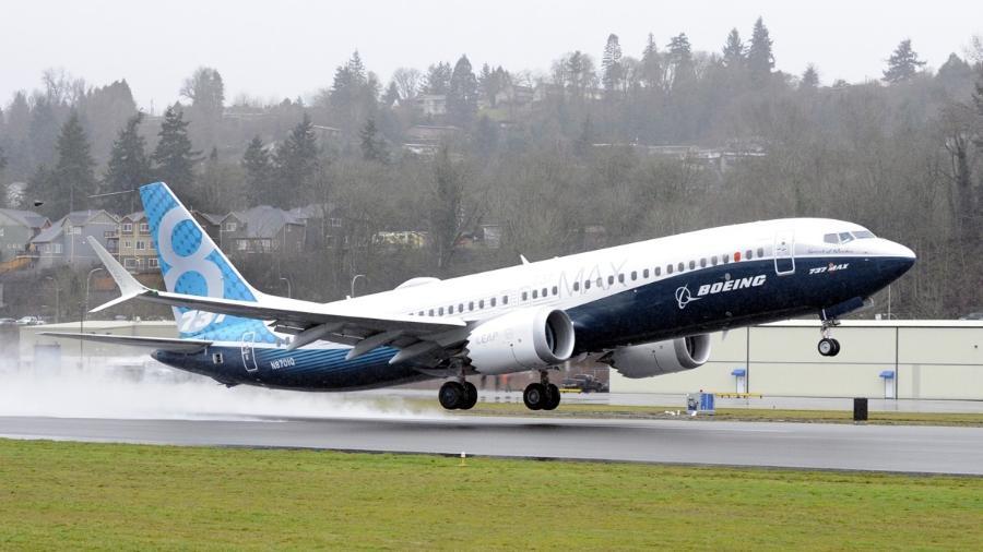 O 737 MAX 8 tem capacidade para transportar até 175 passageiros  - K66500-02