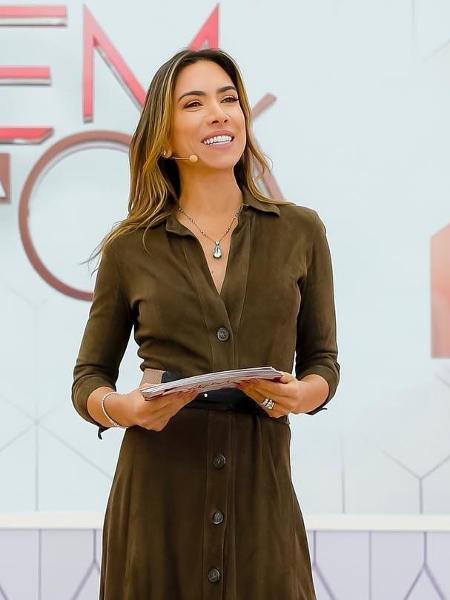 """Patrícia Abravanel, apresentadora do """"Vem Pra Cá""""  - Divulgação / SBT"""