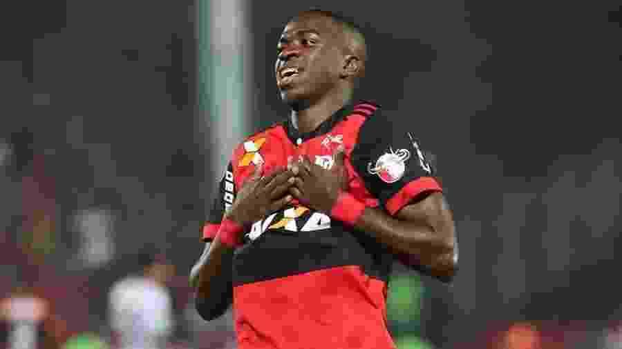 Vinicius Junior é estrela das categoria de base do Flamengo - Gilvan de Souza/Flamengo