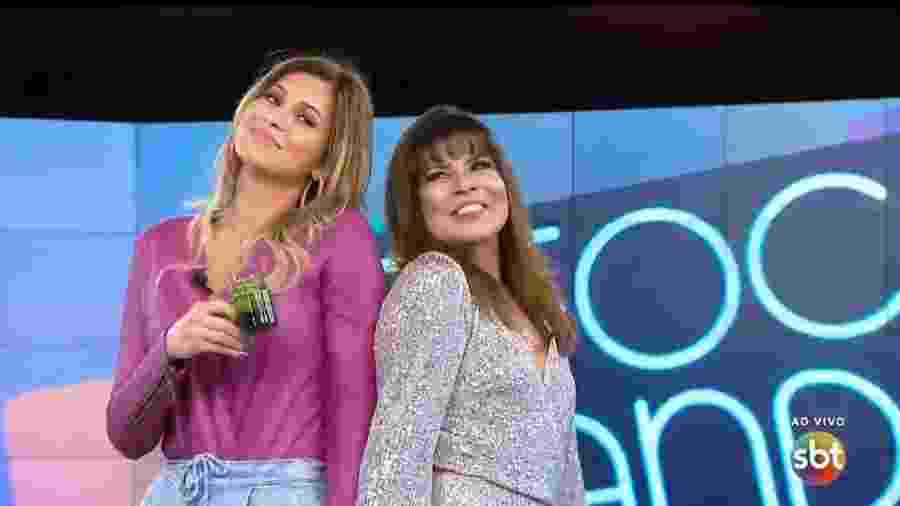 """Lívia e Mara não se suportam, mas agora são obrigadas a interagir no """"Fofocalizando""""  - Reprodução"""