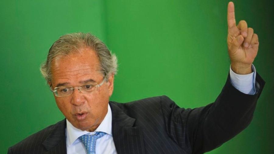 O ministro da Economia, Paulo Guedes.  - Marcelo Camargo / Agência Brasiol