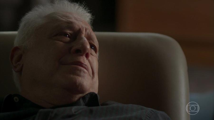 Alberto (Antonio Fagundes) em Bom Sucesso (Reprodução/TV Globo). - Reprodução/TV Globo