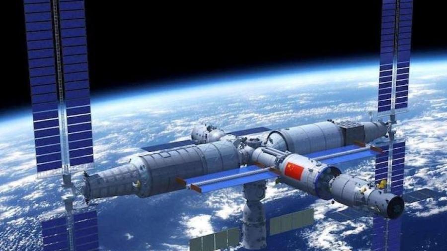 Estação espacial chinesa  - CMSA