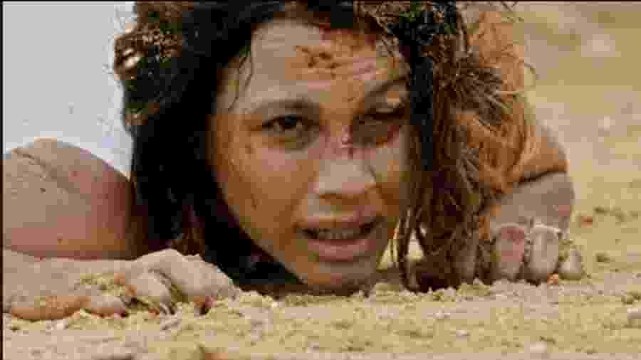 Zoe (Juliana Knust) em Apocalipse (Foto: Reprodução/Record TV) - Reprodução / Internet