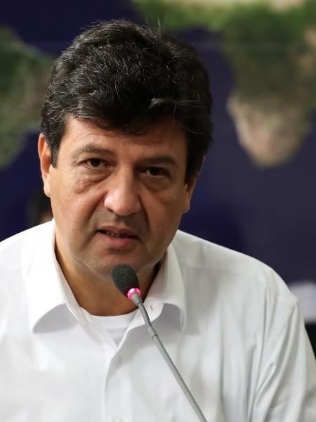 Mandetta foi demitido do Ministério da Saúde em meados de abril                              - MARCOS CORRêA/PR