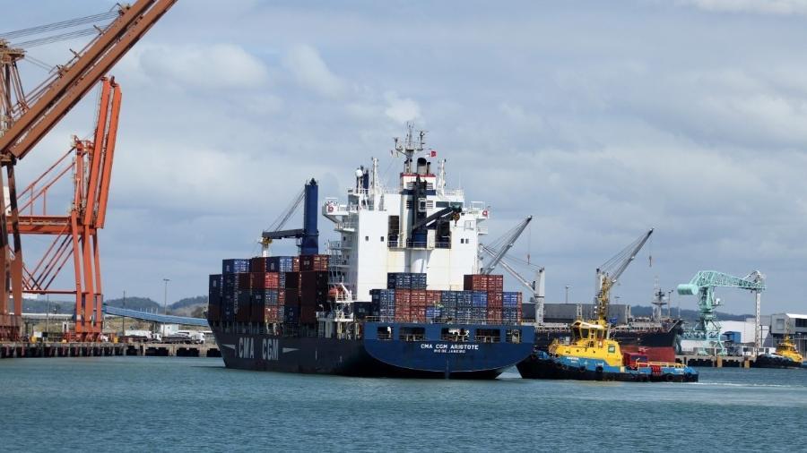 Proposta de incentivo à navegação de cabotagem foi apelidada de BR do Mar -                                 Suape/Divulgação