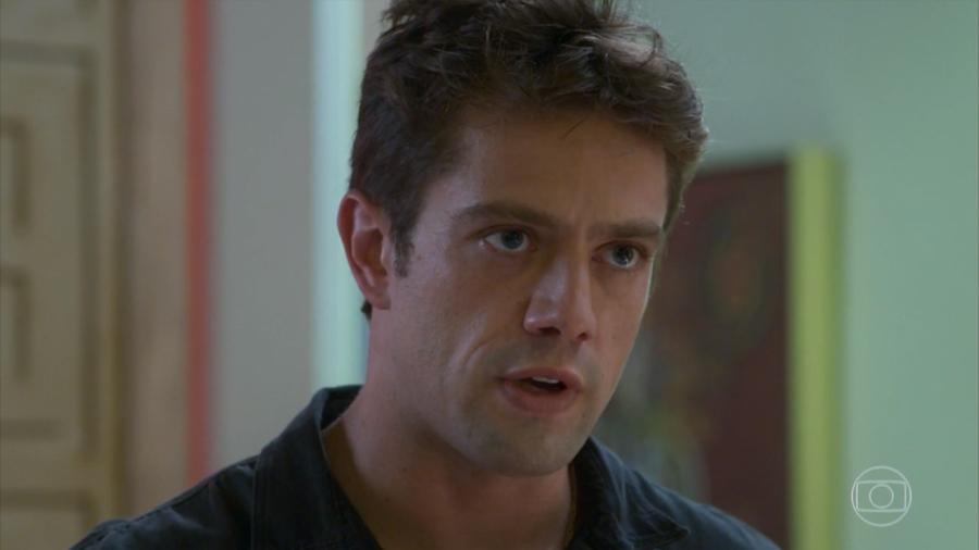 Renzo (Rafael Cardoso) em Salve-se Quem Puder (Reprodução/TV Globo) - Reprodução/TV Globo