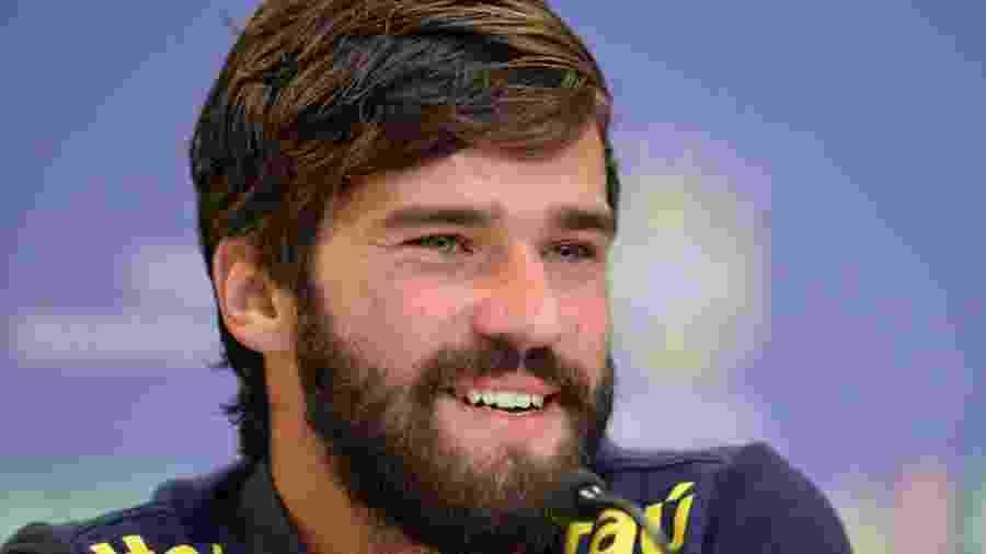 Alisson disse que desconfiança por parte da torcida e da imprensa é normal - Pedro Martins/MoWA Press