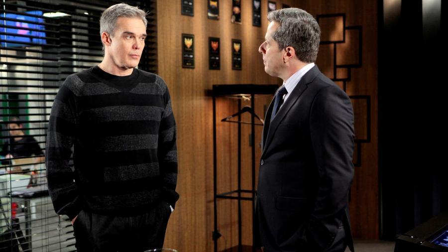 Pendleton (Dalton Vigh) e Roger (Otávio Martins) em As Aventuras de Poliana - Pendleton (Dalton Vigh) e Roger (Otávio Martins) em As Aventuras de Poliana