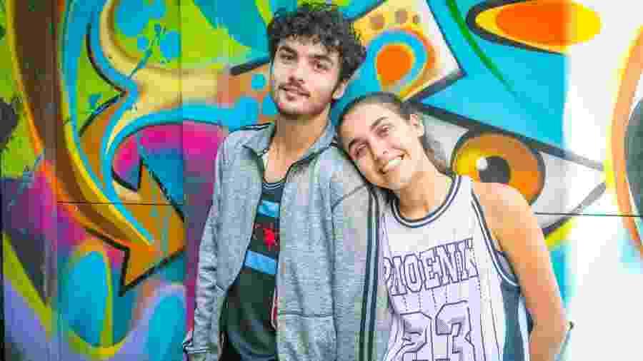 Vicente (Gabriel Contente) e Gabriela (Giovanna Coimbra) em Bom Sucesso (Divulgação/TV Globo). - Vicente (Gabriel Contente) e Gabriela (Giovanna Coimbra) em Bom Sucesso (Divulgação/TV Globo).