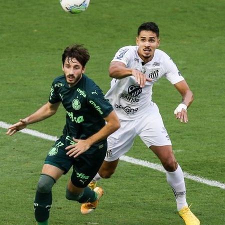 Santos e Palmeiras se enfrentam na decisão da Libertadores no Maracanã - GettyImages