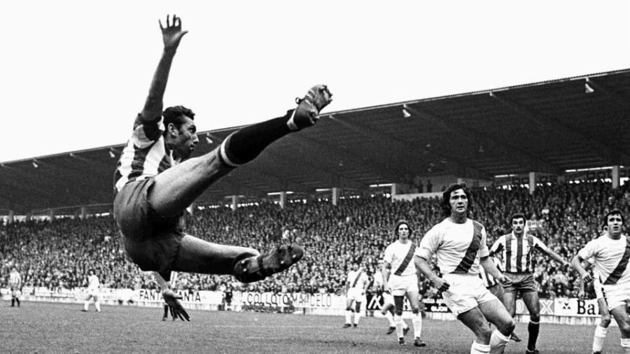 Quini disputou as Copas de 1978 e 1982 pela seleção espanhola -