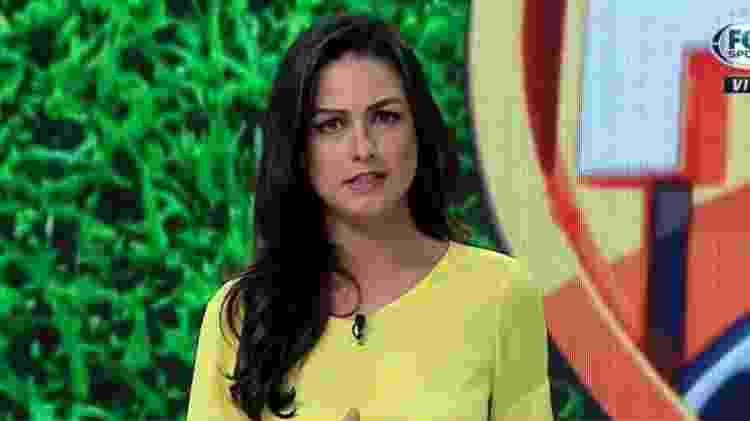 Helena Calil - Reprodução/Fox Sports - Reprodução/Fox Sports