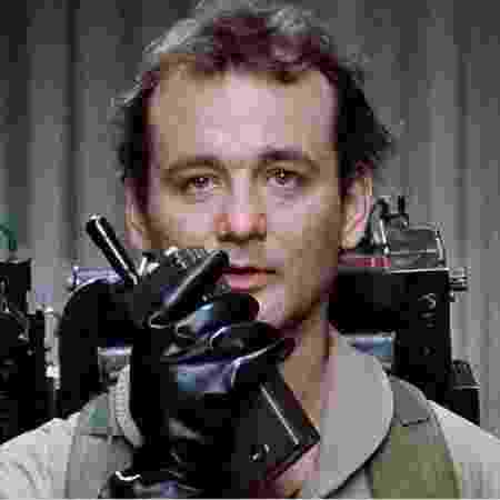 Bill Murray em cena do filme original de Os Caça-Fantasmas - Columbia Pictures