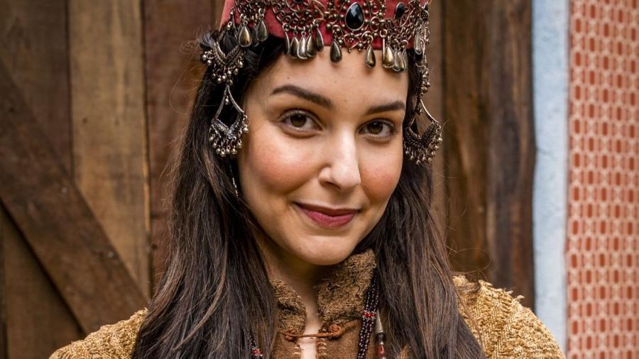 Laura Kuczynski como Danina em Gênesis (Divulgação / Record TV) - Reprodução / Internet