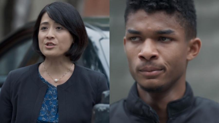 Mitsuko (Lina Agifu) e Anderson (Juan Paiva) de Malhação - Viva a Diferença (Reprodução - TV Globo) - Reprodução / Internet