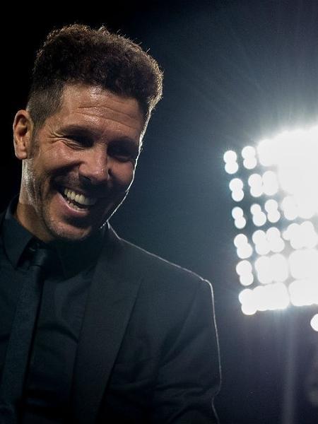 Simeone, técnico do Atlético de Madrid (Foto: Getty Images) - false