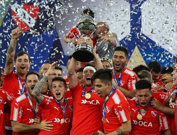 Independiente adiou a festa pelo título da Copa Sul-Americana