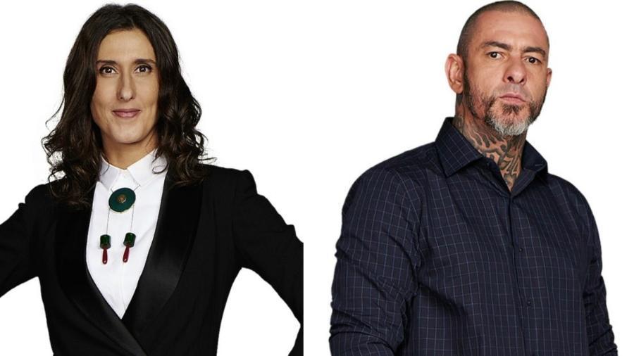Paola Carosella e Henrique Fogaça: programas sem previsão para sair do papel - Divulgação/Band