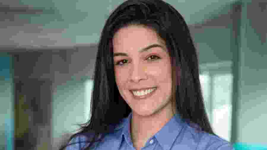 Renata Silveira, narradora da Globo: emissora monitora Ibope de final do Gaúcho feminino - Reprodução / Internet