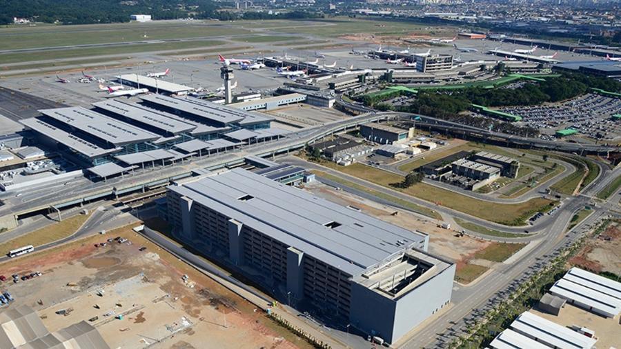 (GRU Airport) - vista-aereaGRU