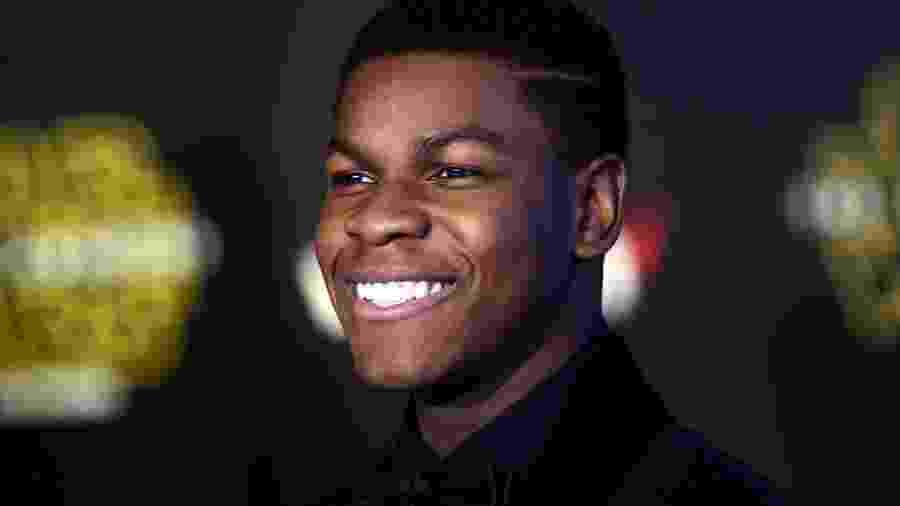 John Boyega, o Finn de Star Wars, - .