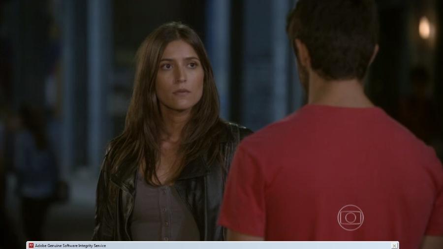 Nat (Maria Joana) e Cobra (Felipe Simas) em Malhação - Sonhos (Reprodução / Globo) - Reprodução / Internet