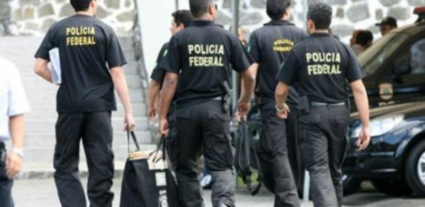 Policiais federais em Curitiba