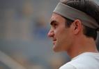 Federer faz primeiro treino em Paris e volta a Roland Garros após três anos de ausência; assista - (Sem crédito)