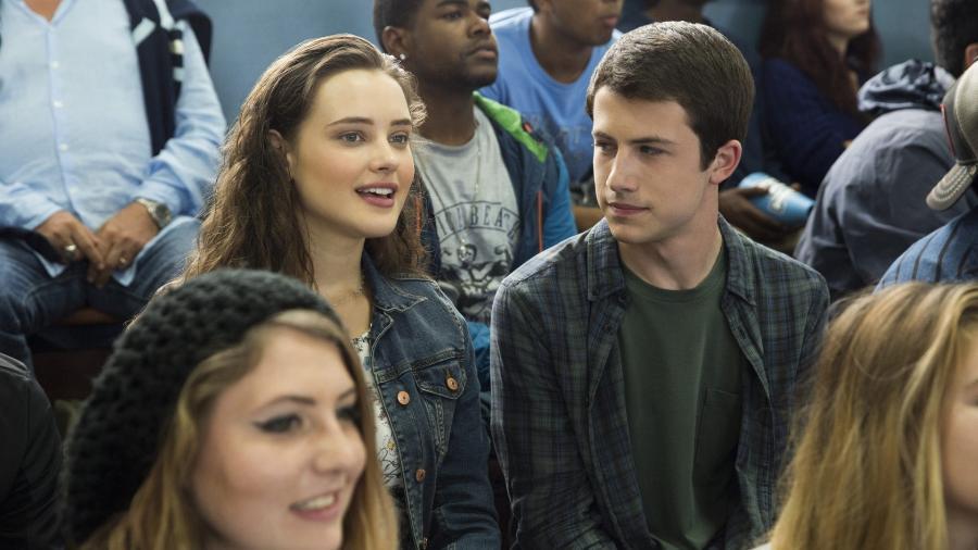 """Hannah e Clay em """"13 Reasons Why"""" - Netflix/Reprodução"""
