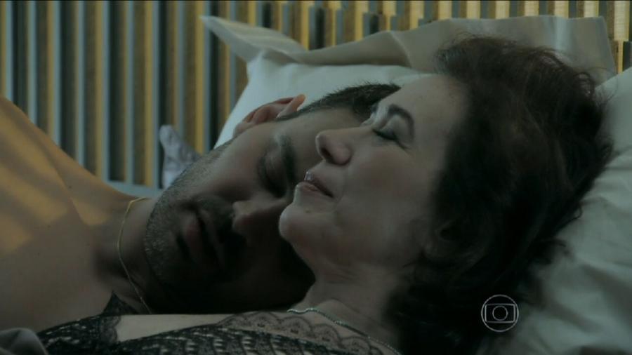 Maria Marta (Lília Cabral) e Maurílio (Carmo Dalla Vecchia) em Império (Foto: Reprodução/Globo) - Reprodução / Internet