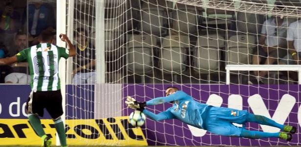 Vanderlei teve atuação impressionante na última rodada do Campeonato Brasileiro