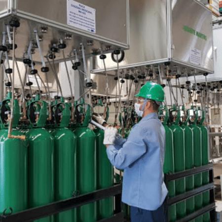 Manaus: Fornecedora diz que avisou autoridades sobre falta de oxigênio e pediu apoio ao Ministério da Saúde - Divulgação/White Martins